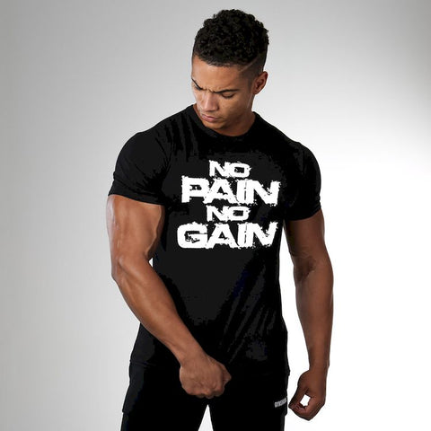 Stunning No Pain No Gain T-Shirt for Men