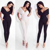 New Exquisite European and American Off-Shoulder Women Jumpsuit