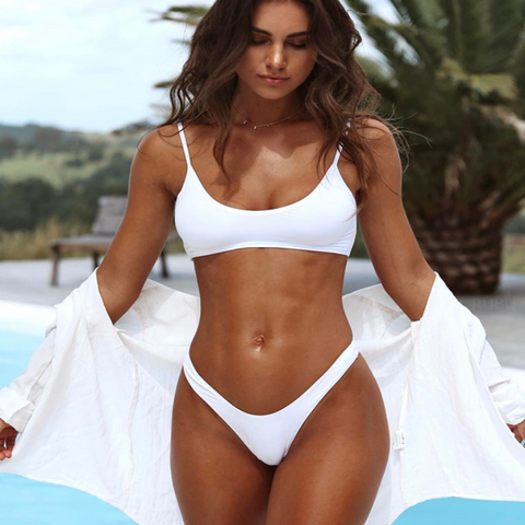 2018's Ravishing Stylish All Color One Piece Beachwear Swimsuit Bikini