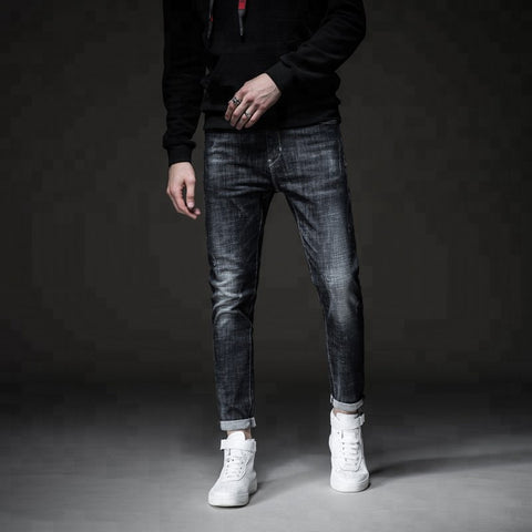 Hot Trending Design Monkey Wash Men Jeans Male Cool Pants