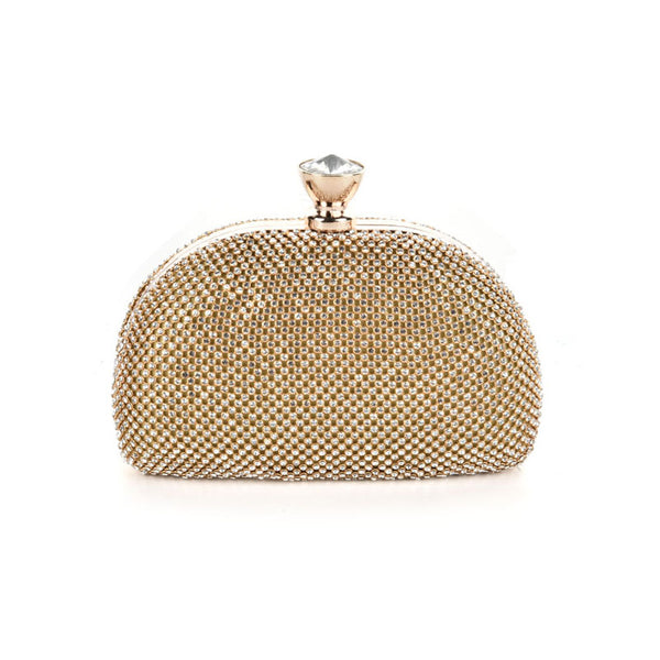 Ladies evening clutch with accents