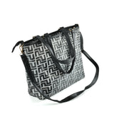 Large handbag with shoulder strap