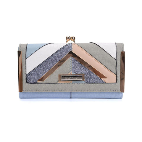 Sally Young Patchwork Stripe Purse