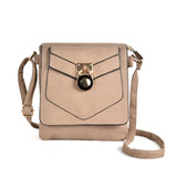 Boxy crossbody bag with buckle detail
