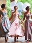 Popular A Line Sweetheart Off Shoulder Applique Beaded Long Bridesmaid Dress, BD0452