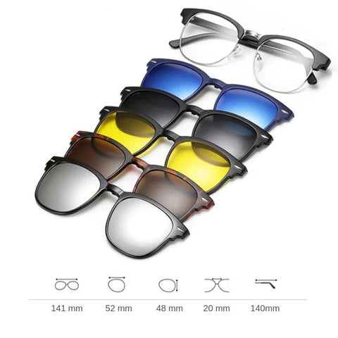 Image of Sunglasses 5 in 1