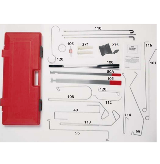Lock Technology 1000 Master Towing and Recovery Supreme Lock Out Kit