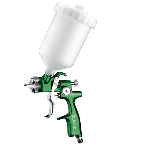 Astro Pneumatic EUROHV103 1.3MM EuroPro HVLP Spray Gun with Plastic Cup