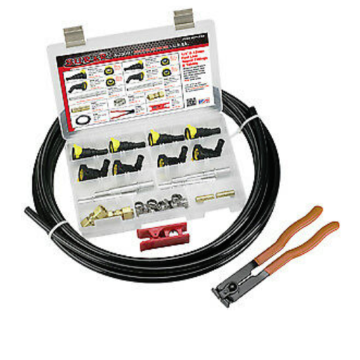 "S.U.R & R KP1212 1/2"" And 12mm Fuel Line Replacement Kit"