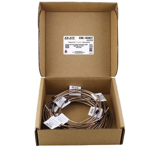AGS CNC-163KIT NiCopp EZ-Fit Complete Brake Line Replacement Kit