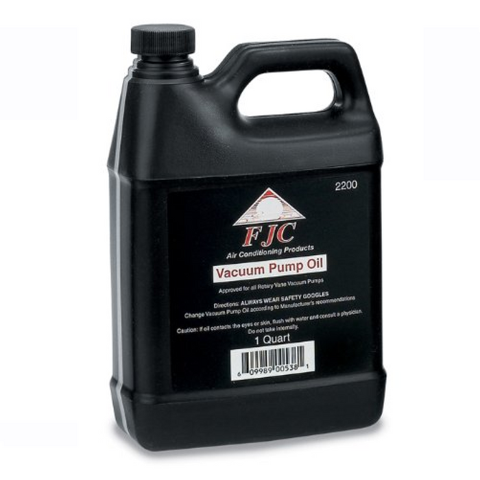 1 Quart Vacuum Pump Oil - FJC 2200