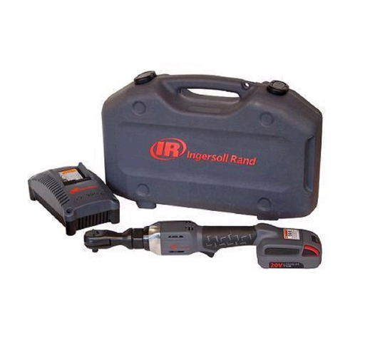 Ingersoll Rand R3150-K12 20 Volt Cordless Ratchet with Lion Battery Charger and Case 1/2""