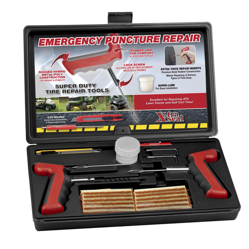 31 Incorporated 12-353 Heavy Duty Ergonomic Handle Tire Repair Kit