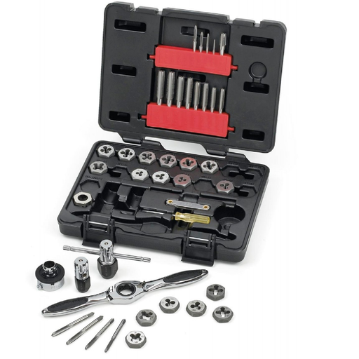 GEARWRENCH 3885 40 Piece GearWrench SAE Tap and Die Set
