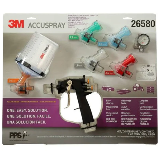 3M 26580 Accuspray™ ONE Spray Gun System with Standard PPS™