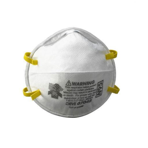 3M 7048 N95 Safety Respirator Particle Masks (20 Pack)
