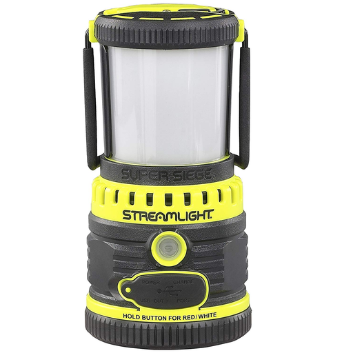 Streamlight 44945 Yellow Super Siege 120V Combo Lantern
