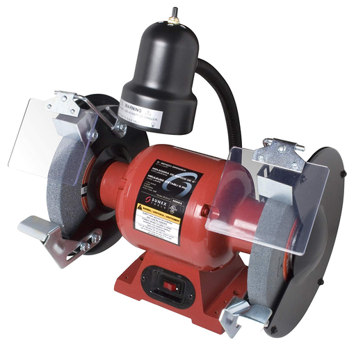 "Sunex 5002A 8"" Bench Grinder With Light"