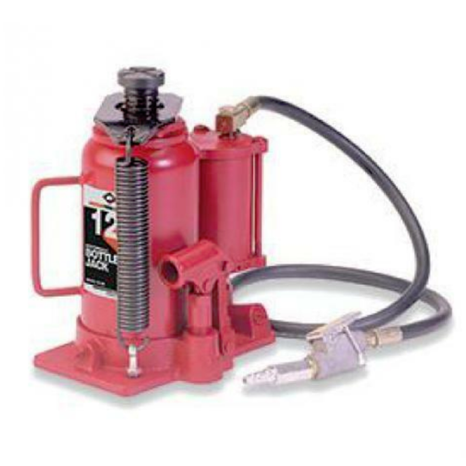 American Forge & Foundry 5612SD 12 Ton SD Air/Hydraulic Bottle Jack