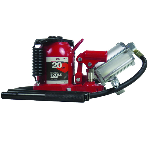 American Forge & Foundry 5621SD 20 Ton Low Profile SD Air/Hydraulic Bottle Jack