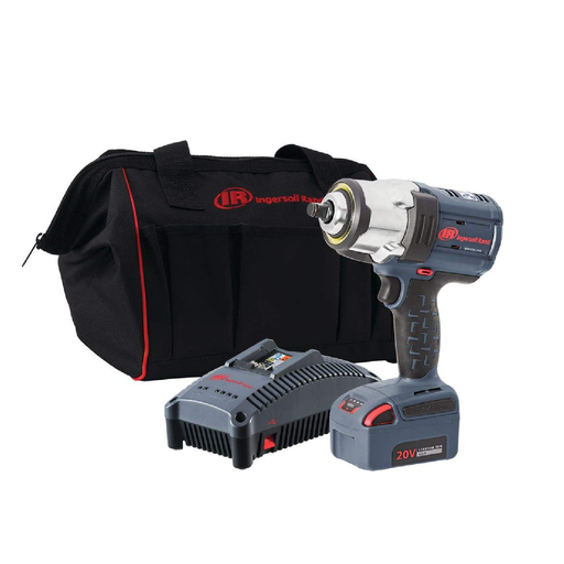 "Ingersoll Rand W7152-K12 1/2"" Drive IQV20 HD Impact Wrench One Battery Kit"