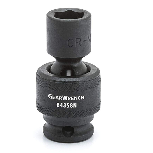 "Gearwrench 84354N 8MM 6-Point Universal Socket 3/8"" Drive"