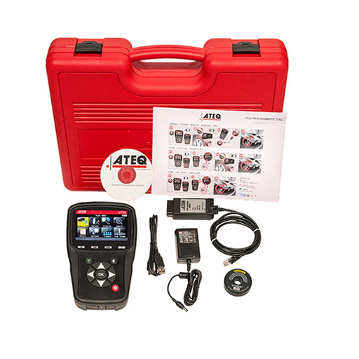 ATEQ TS56-1002 Comprehensive TPMS Tool Kit - Domestic, Euro, & Asian Coverage