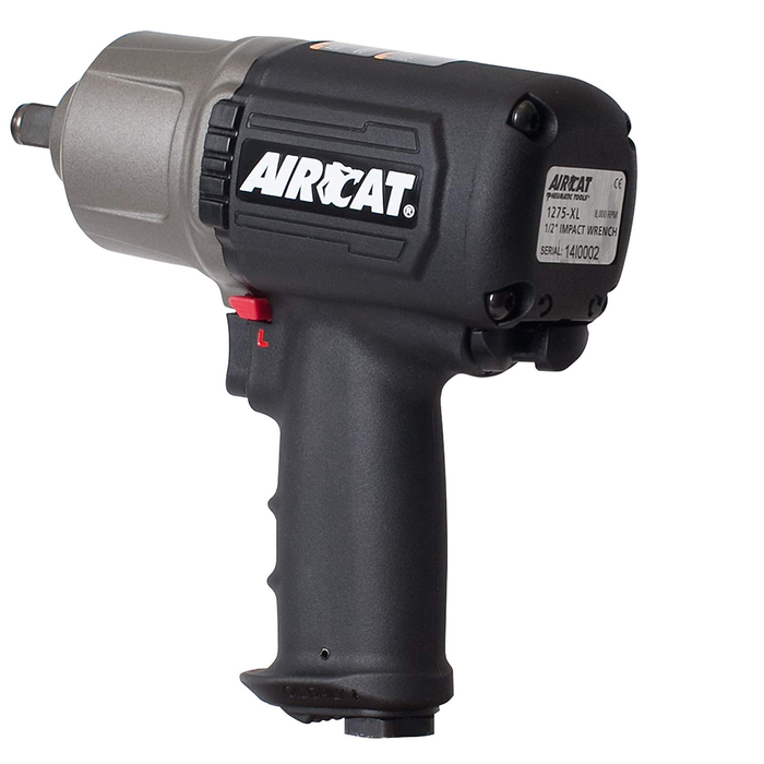 "Aircat 1275-XL 1/2"" Drive Air Impact with Torque Switch Control"