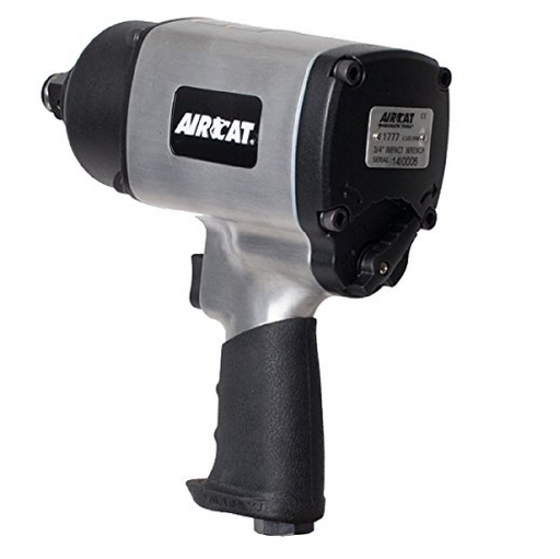 "Aircat 1777 3/4"" Aluminum Impact Wrench Twin Hammer"