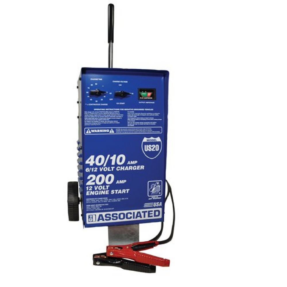 Associated Equipment US20 6/12 Volt Battery Charger - Free Shipping