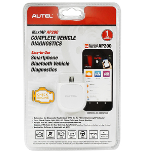 Autel AP200 MaxiApp Pro Dongle OBDII Diagnostics Interpreter