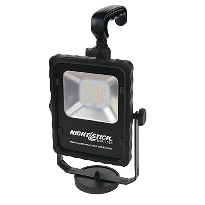 Bayco NSR-1514 Nightstick Rechargeable Area LED Light with Magnetic Base
