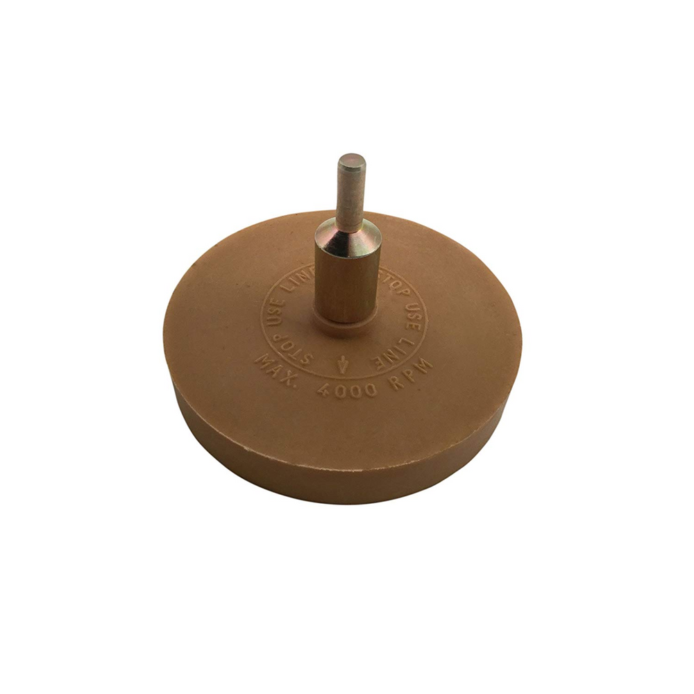 CTA 1010 3.5 Inch Eraser Wheel With Arbor Adapter