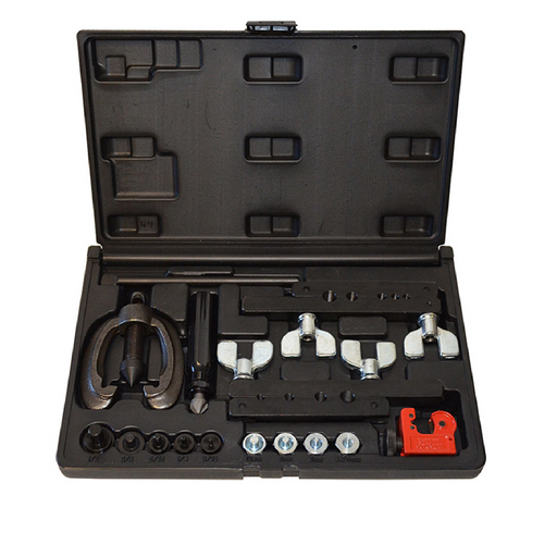 Cal-Van Tools 82900 Double and Bubble Flaring Tool Kit Metric and SAE