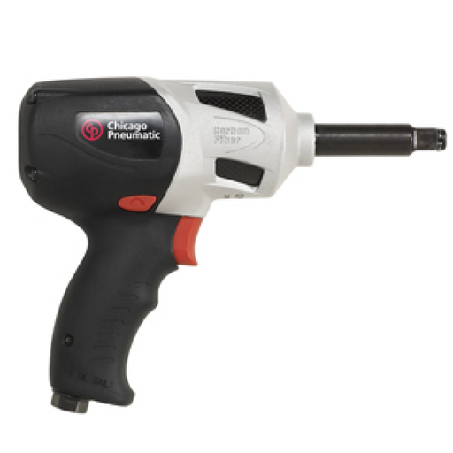 "Chicago Pneumatic 7759Q-2 1/2"" Composite Carbon Fiber Impact Wrench with 2"" Extended Anvil"