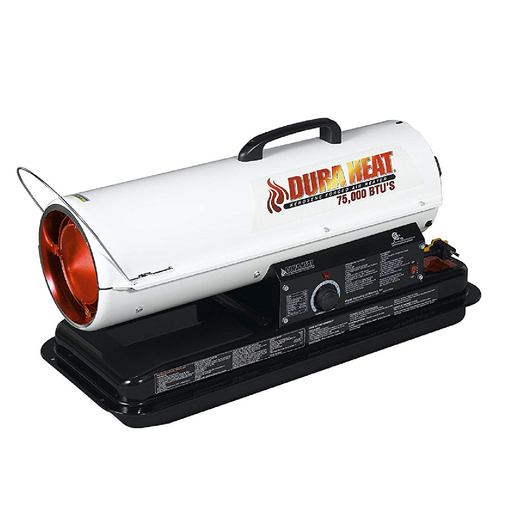DuraHeat DFA80T 80K BTU Fueled Torpedo Heater with Auto Thermostat