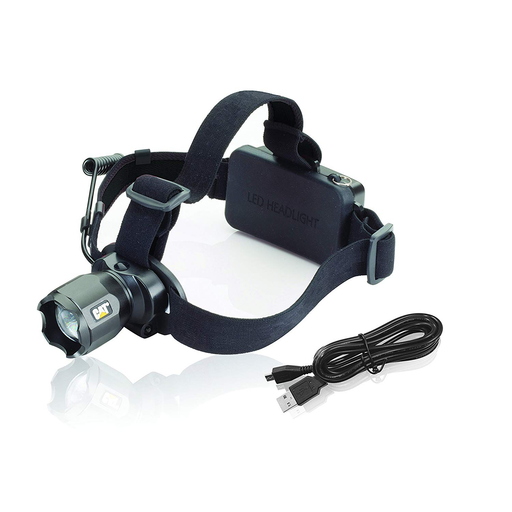 E-Z Red CT4205 380 Lumen Rechargeable Focusing CAT Headlamp