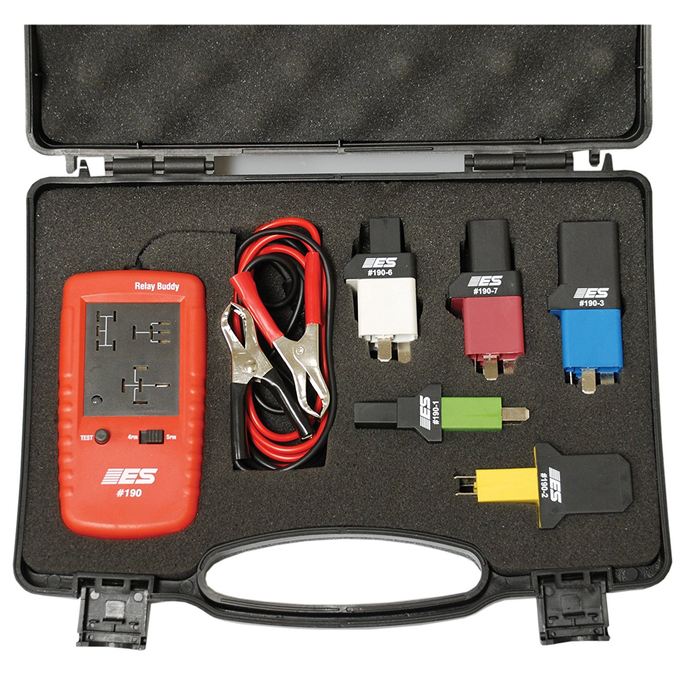 Electronic Specialties 191 Relay Buddy Pro Test Kit - Free Shipping