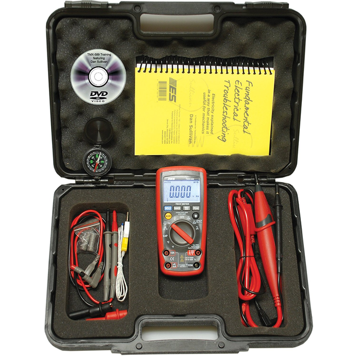 Electronic Specialties TMX-589 True RMS Digital Multimeter CATII 1000 Volt - Free Shipping
