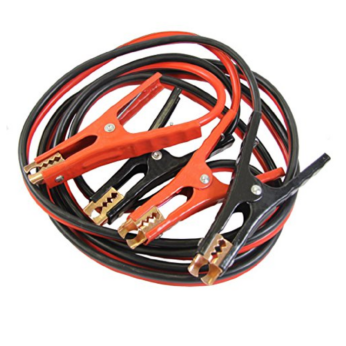 FJC 45223 500 Amp Clamp 12' Booster Cables - 8 Gage