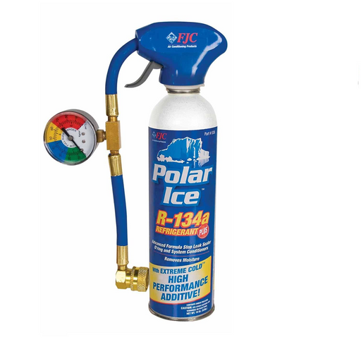 FJC 525 R134A Polar Ice and Leak Sealer - 19 oz Can with Tap