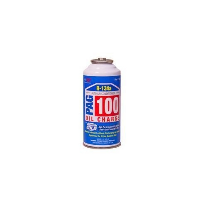 FJC 9243 PAG 100 Oil Charge with  Extreme Cold Additive - 3 oz