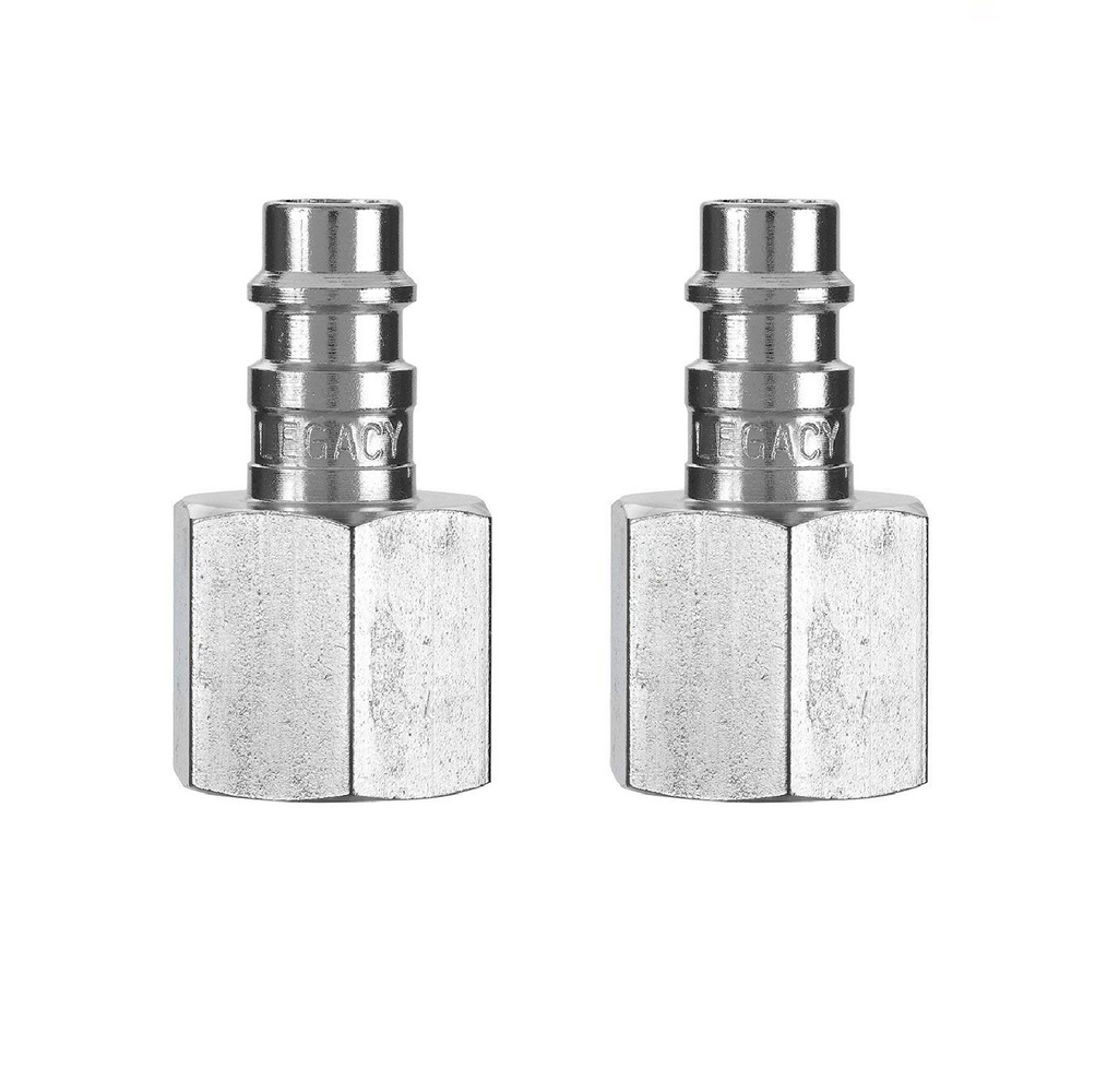 "Flexzilla A53630FZ-2PK High Flow Plug 1/4"" Body 3/8"" FNPT, 2-Pack"