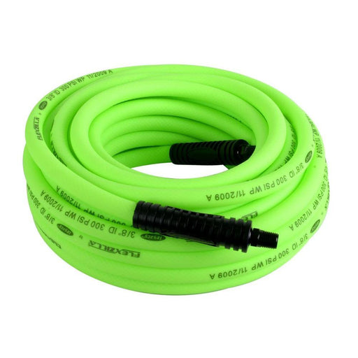 "Legacy HFZ38100YW2 Flexzilla 3/8"" x 100' ZillaGreen Air Hose - 1/4"" MNPT"
