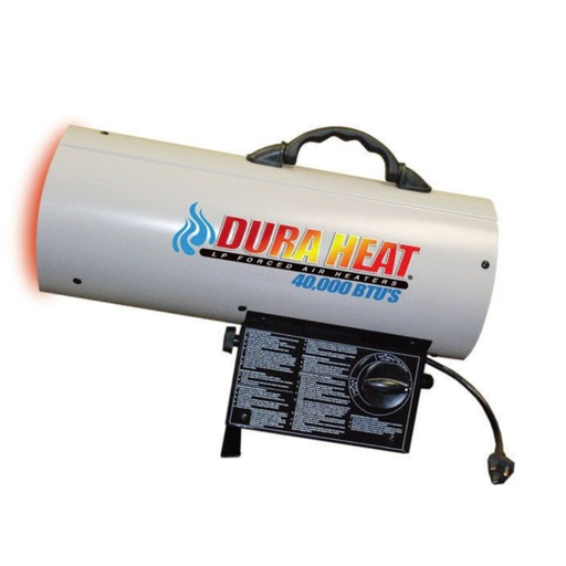 DuraHeat GFA40 40K Torpedo LP Forced Air Heater- Fixed output