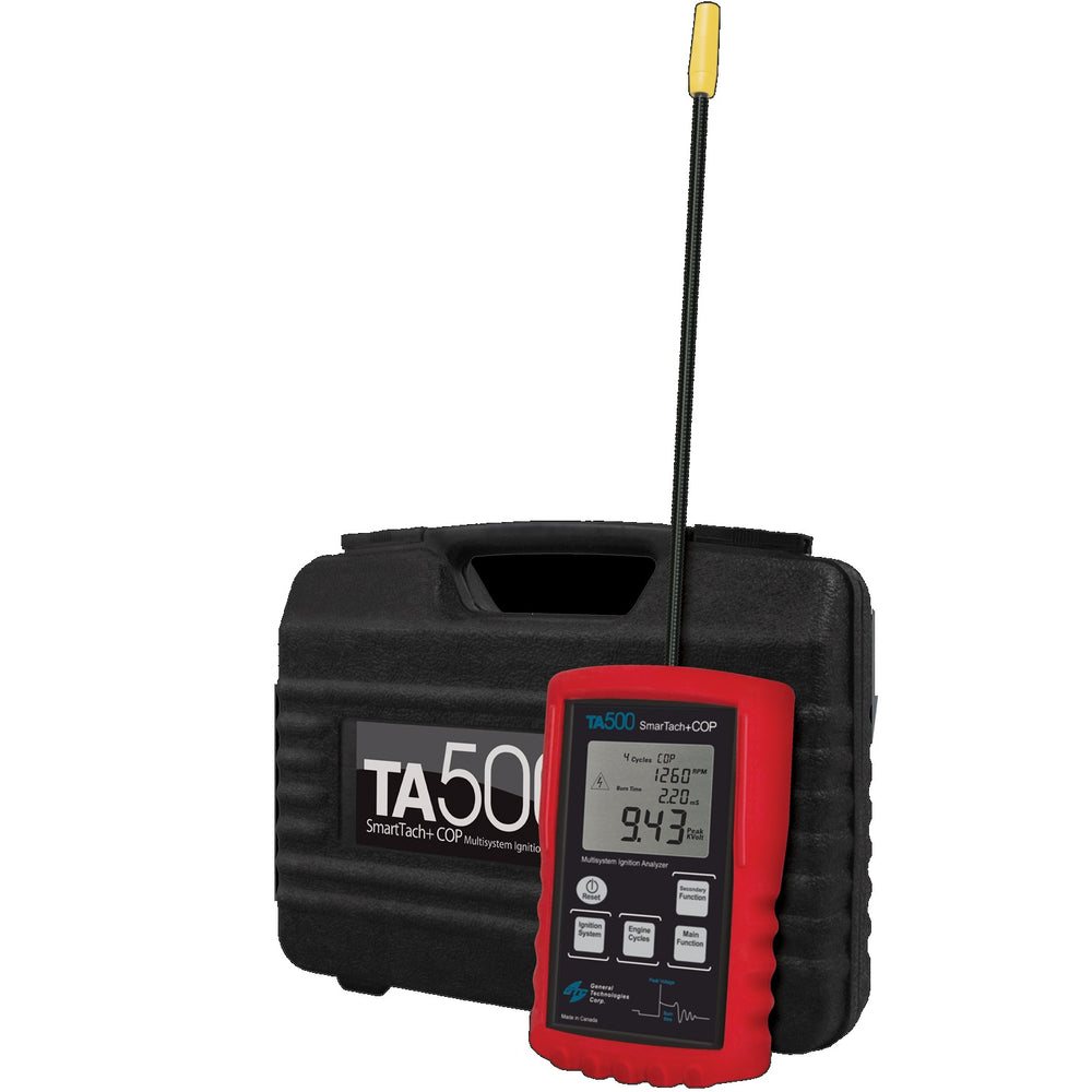 GTC TA500 Smartach and COP Multisystem Ignition Analyzer
