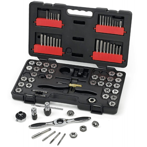 Gearwrench 3887 75-Piece SAE/Metric Tap and Die Set