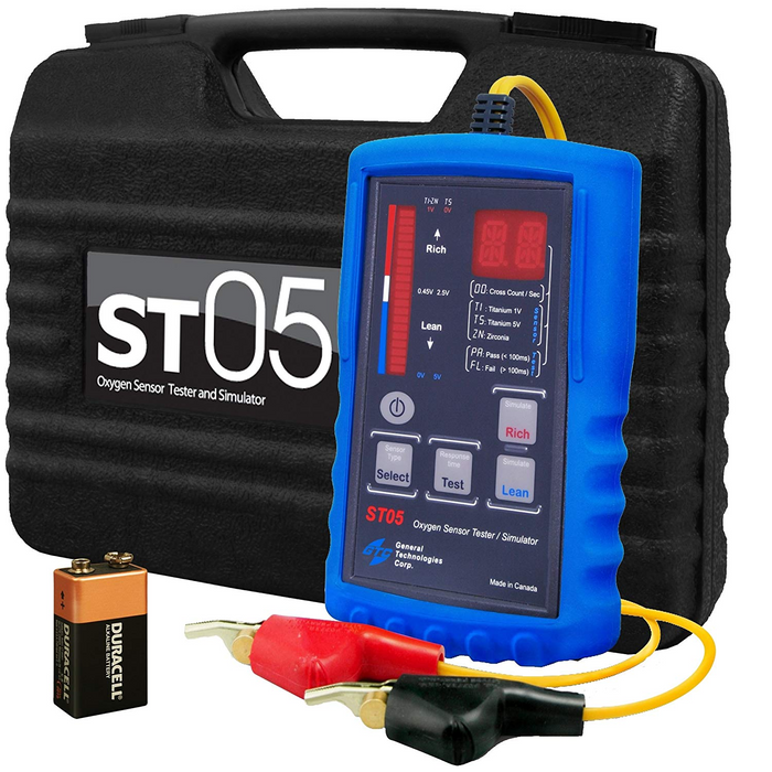General Technologies ST05 Oxygen Sensor Tester Simulator - Free Shipping