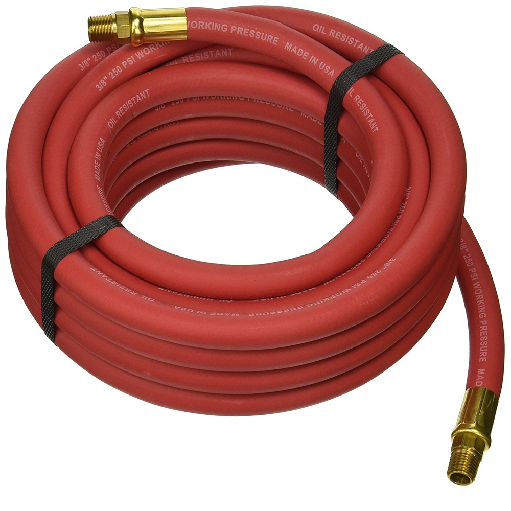 "GoodYear 12185 25' X 3/8"" Red Goodyear Air Hose"