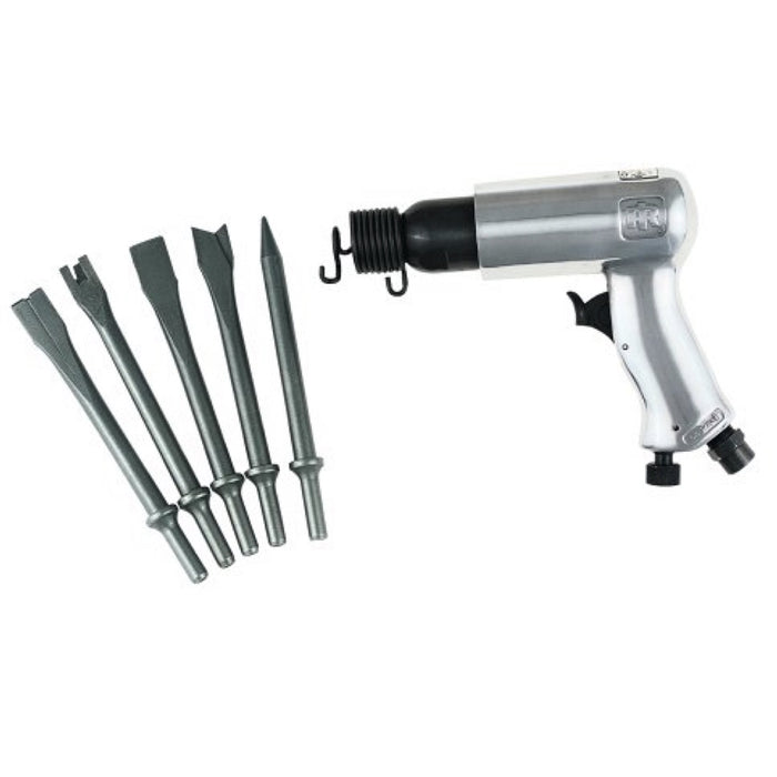 Ingersoll Rand 116K Standard Duty Air Hammer with 5 Piece Chisel Set